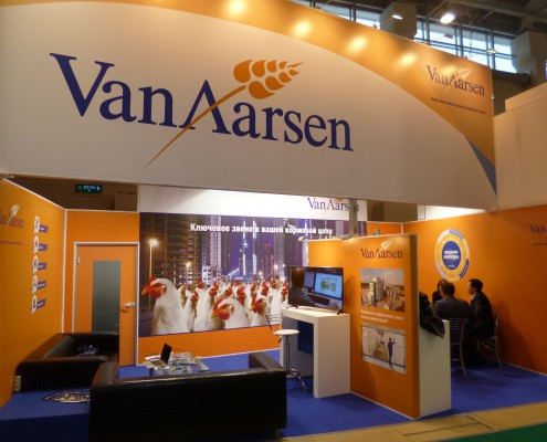 Van Aarsen at the Cereals Mixed Feed in Moscow