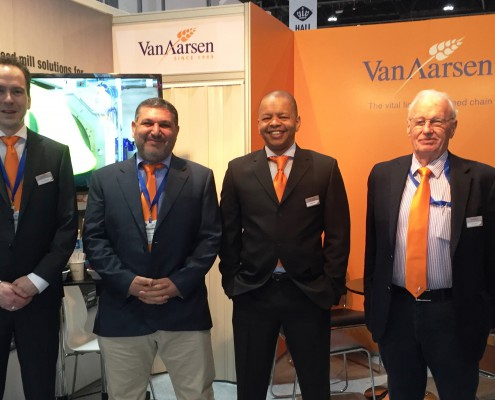 Van Aarsen attends the Viv Mea in Abu Dhabi